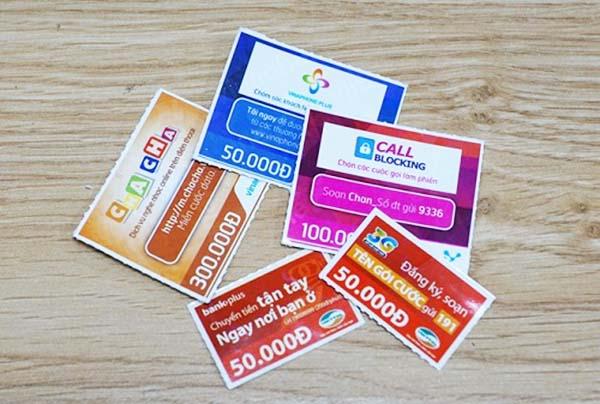 Hướng dẫn chuển card điện thoại thành tiền mặt