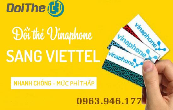 đổi thẻ Vina sang Viettel ở đâu?