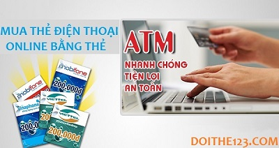 """Mua thẻ điện thoại online bằng thẻ ATM uy tín – chiết khấu """"khủng""""!"""