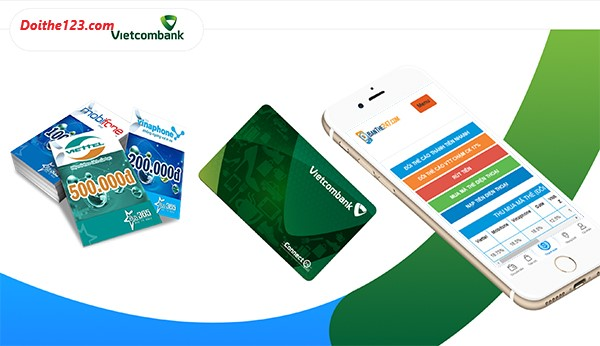 mua thẻ điện thoại online vietcombank