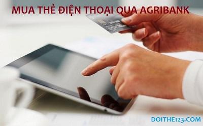 """Mua thẻ điện thoại qua Agribank thần tốc và chiết khấu """"khủng""""!"""
