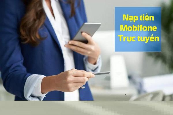 Cách nạp tiền điện thoại Mobifone