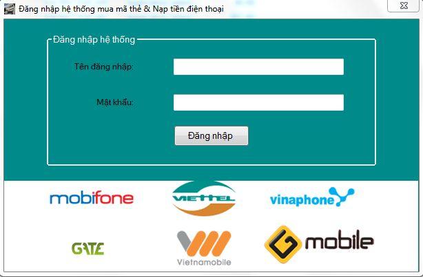 Hướng dẫn sử dụng phần mềm in thẻ tại hệ thống Doithe123.com