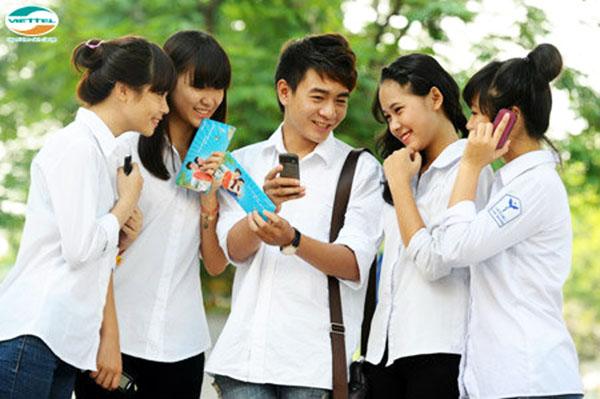Sim 4g viettel sinh viên với các gói cước mạng hấp dẫn được nhiều bạn sinh viên quan tâm